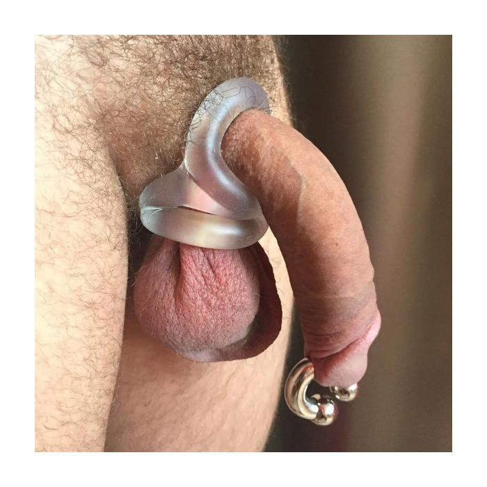 Wholesale men silicone snowflake time delay penis ring cock rings blue