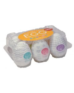 Tenga Egg 6 Verschillende Masturbators