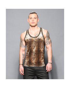 Andrew Christian Plush Tiger Net Tank
