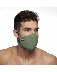 Addicted Shiny Mask Mondmasker - Khaki