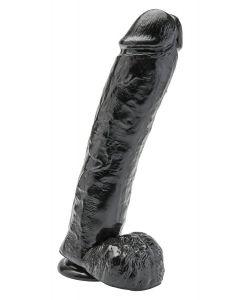 Get Real Realistische Dildo 30 cm Zwart