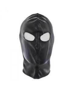 Kunstleren Masker met Open Ogen