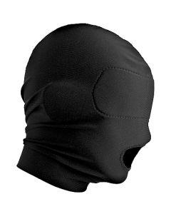 Masker met Open Mond - Zwart*