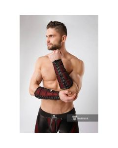 Maskulo Armored Color-Under Forearm Wallet - Red