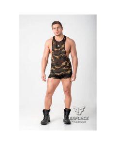 Maskulo Enforce Mesh Tank Top - Camouflage Voorkant