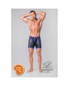 Maskulo Youngero Generation Y Shorts - Blauw voorkant