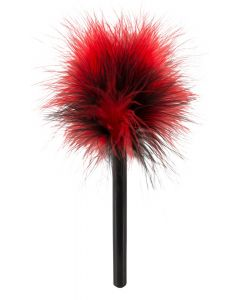 Mini Veertje - Rood / Zwart