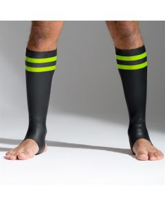 Neoprene Socks - Green  - Tall