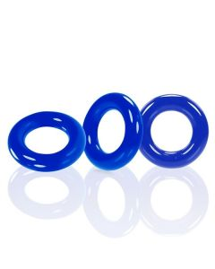 Oxballs Willy Cockring 3 Pack - Blauw*