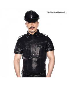 Prowler RED Politie Shirt Piped Zwart voor