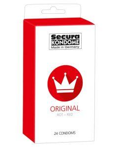 Secura Original  Red Condooms - 24 stuks