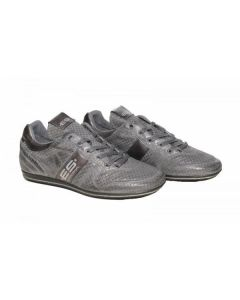 ES Leather Sneakers Charcoal