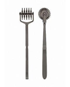KINK - Spike - Solid Metal Pinwheel - 5 Wheels - Gun Metal