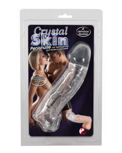 Transparante Penis Sleeve Met Balzak Opening