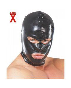 Latex Masker - Zwart